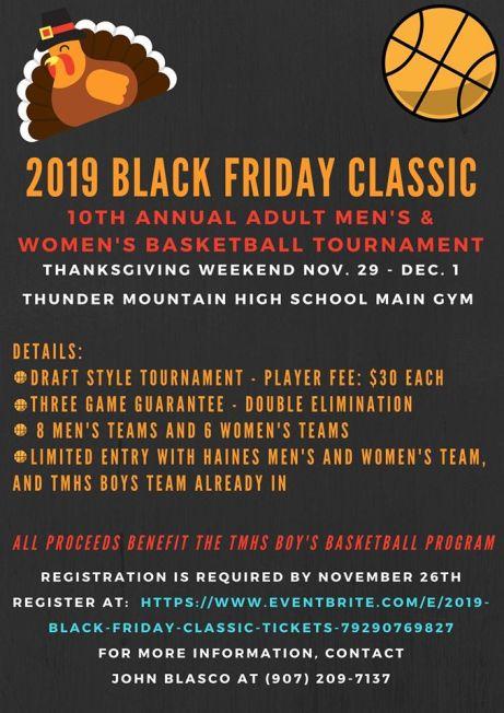 Black Friday Tournament 2019